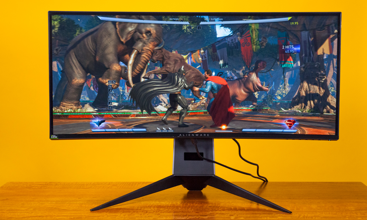 Dell Alienware AW3418W Curved monitor