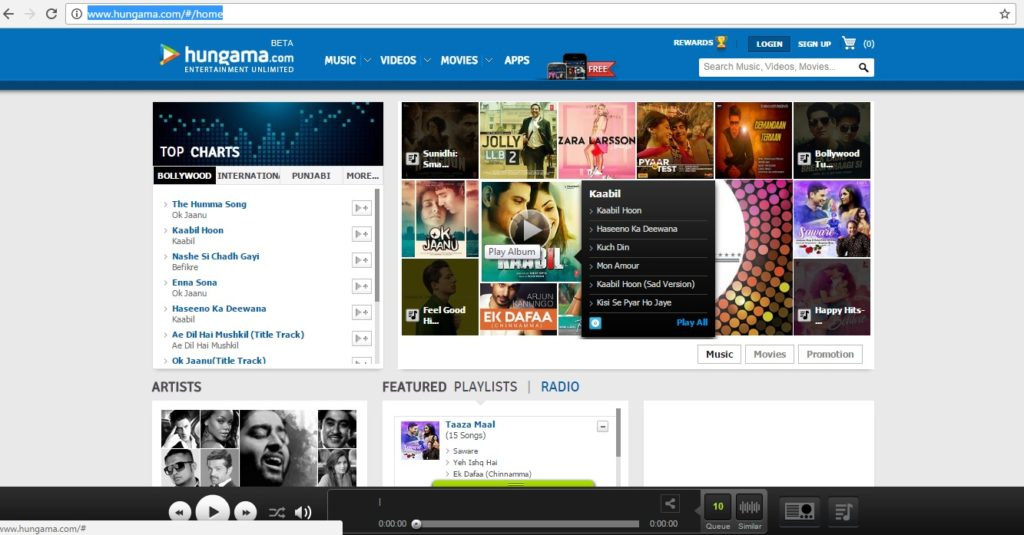 bollywood songs download website hungama