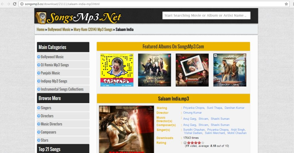 bollywood songs download website songsmp3