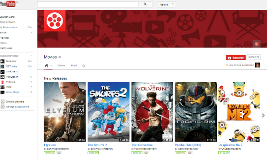 youtube Free HD Movies Direct Download