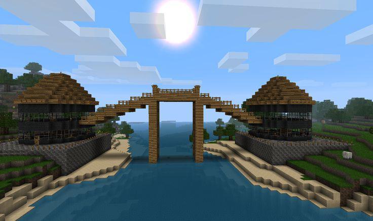 how to make bridge minecraft